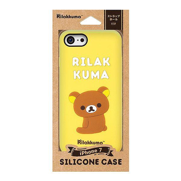 8cdc1e56d4 リラックマ - iPhone7シリコンケース(リラックマ) - サンエックス ...